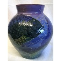 DENNIS CHINAWORKS SEA BREAM VASE